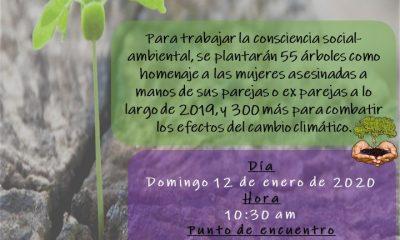 AionSur cartel-400x240 Arahal contará con un árbol por cada mujer asesinada en España en 2019 Arahal  destacado