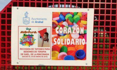 AionSur corazon-solidario-400x240 El corazón solidario de Arahal ayudará a un niño llamado Gael Arahal Sociedad