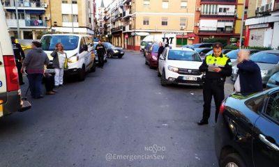 AionSur emergencias-sevilla-400x240 Un conductor de VTC se queda dormido y atropella a dos personas en Sevilla Sevilla Sucesos