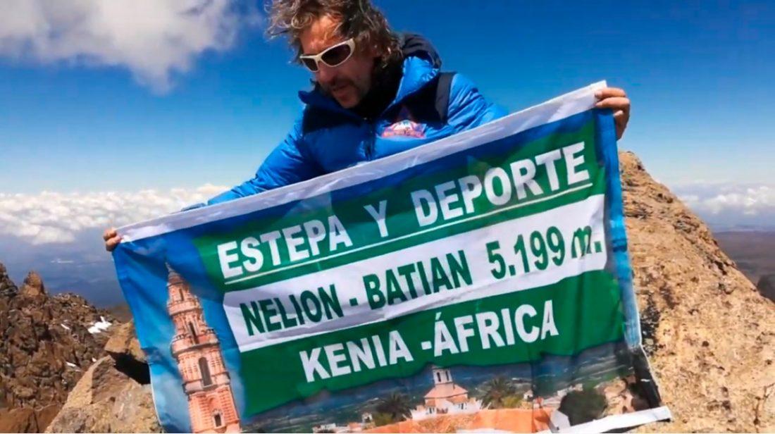 AionSur estepa-montanero El estepeño José León añade el monte Kenia a su lista de grandes retos Estepa Sociedad