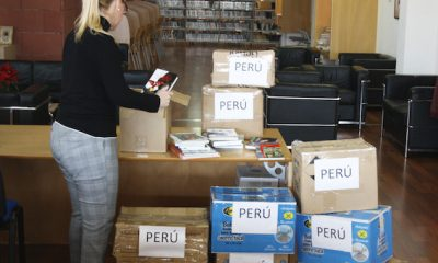 AionSur libros-mairena-400x240 Un millar de libros de Mairena del Alcor servirán para crear una biblioteca en Perú Sociedad