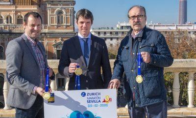 AionSur maraton-cartel-400x240 Triana, la Torre del Oro o la Maestranza, en el cartel y medalla del Maratón de Sevilla Deportes Sevilla