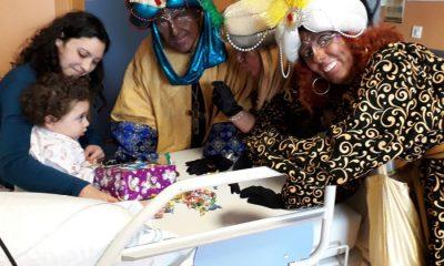 AionSur reys-baltasar-400x240 Los Reyes Magos visitan los hospitales de Valme y El Tomillar Provincia Salud