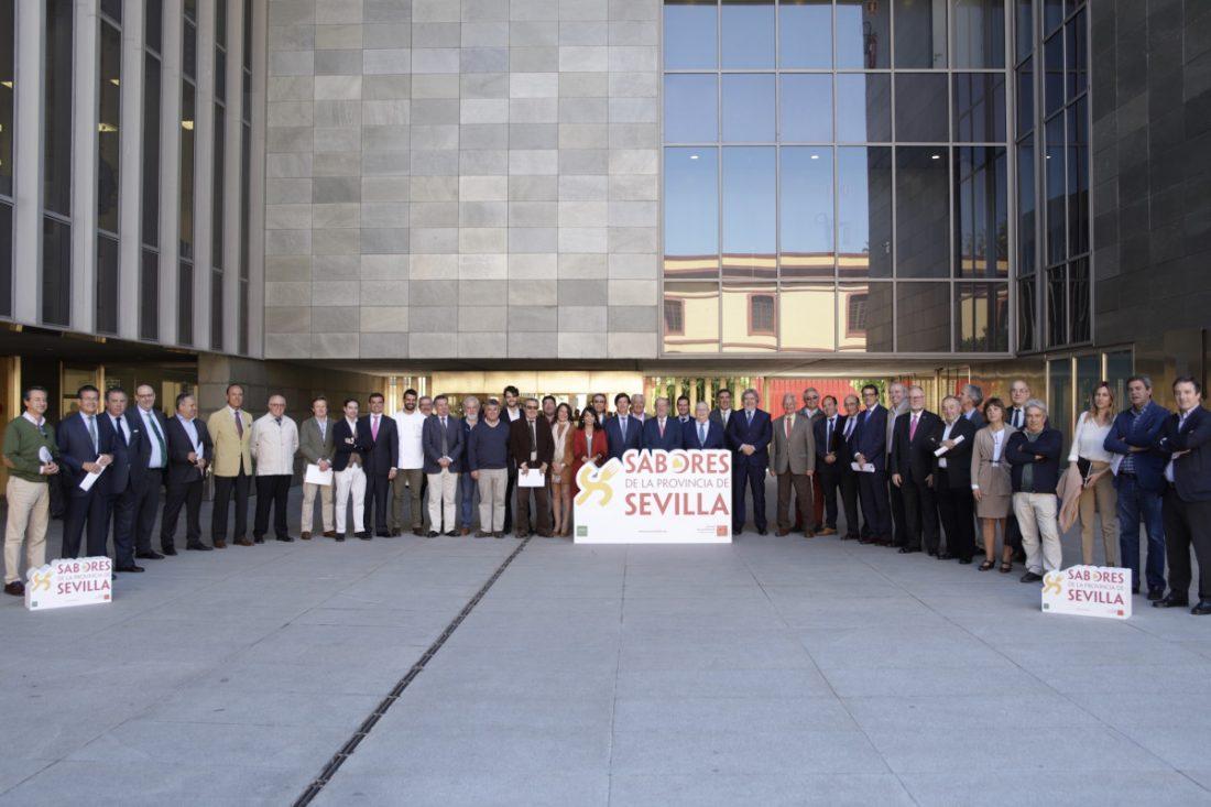 AionSur sabores-provincia Los 'Sabores de la Provincia de Sevilla' se presentan en Madrid Fusión Diputación Prodetur destacado