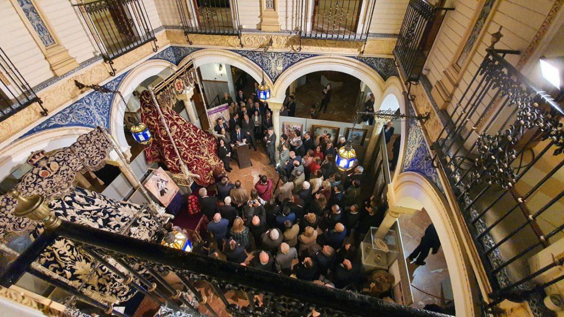 AionSur 84538520_2797116127031429_1463934182592872448_o-compressor La hermandad de Jesús de Marchena clausura su exposición en Sevilla con más de 13.000 visitas Marchena