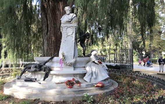 AionSur Becquer-Monumento-1 Sevilla abre los actos dedicados a los Bécquer en el 150 aniversario de sus muertes Cultura Sevilla