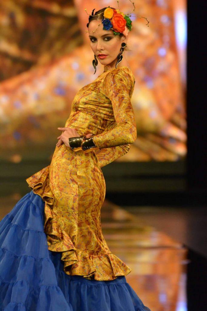 AionSur Foto-1-compressor-683x1024 'Calé y Doscopio', el espíritu de Klimt en los diseños de Carmen Latorre en la pasarela flamenca SIMOF en Sevilla Empresas Sociedad
