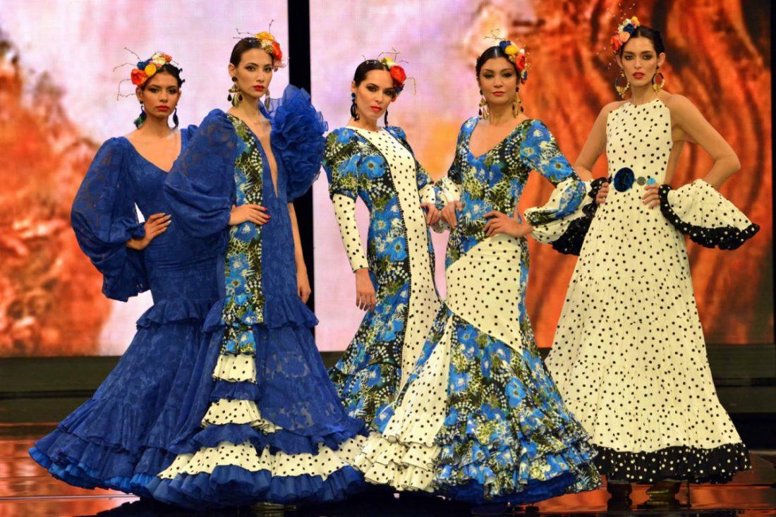 AionSur Foto-2-compressor 'Calé y Doscopio', el espíritu de Klimt en los diseños de Carmen Latorre en la pasarela flamenca SIMOF en Sevilla Empresas Sociedad