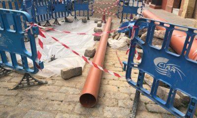AionSur IMG_0225-compressor-400x240 CIAR descubre que la avería registrada en la calle Corredera de Arahal es más complicada de lo esperado Arahal  destacado