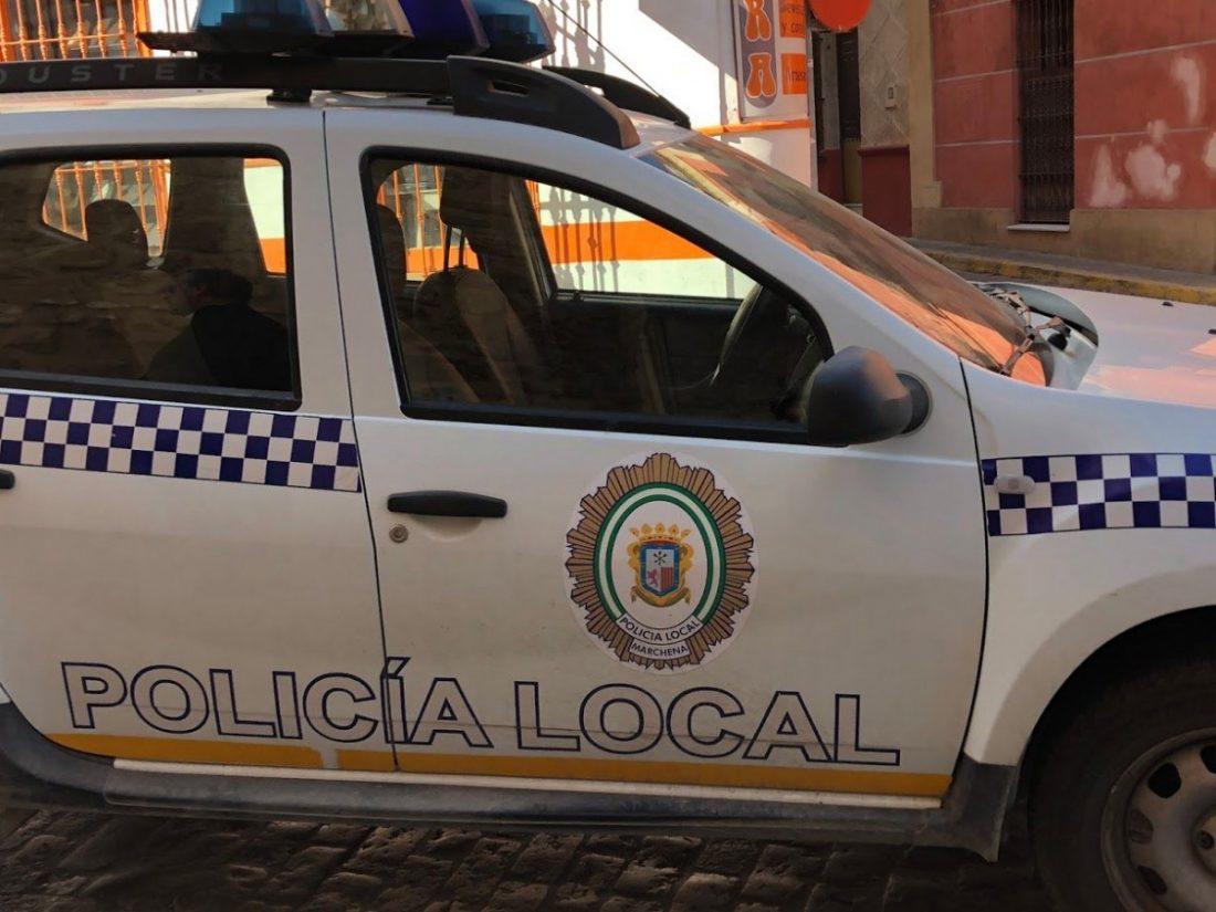 AionSur IMG_0568-compressor Cuatro policías locales de Marchena se dan de alta en una plantilla mermada Marchena  destacado