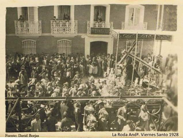 AionSur Palio-Calle-Real-1928-Fuente Nuestro Padre Jesús Nazareno de La Roda saldrá en procesión barroca Cultura La Roda de Andalucía