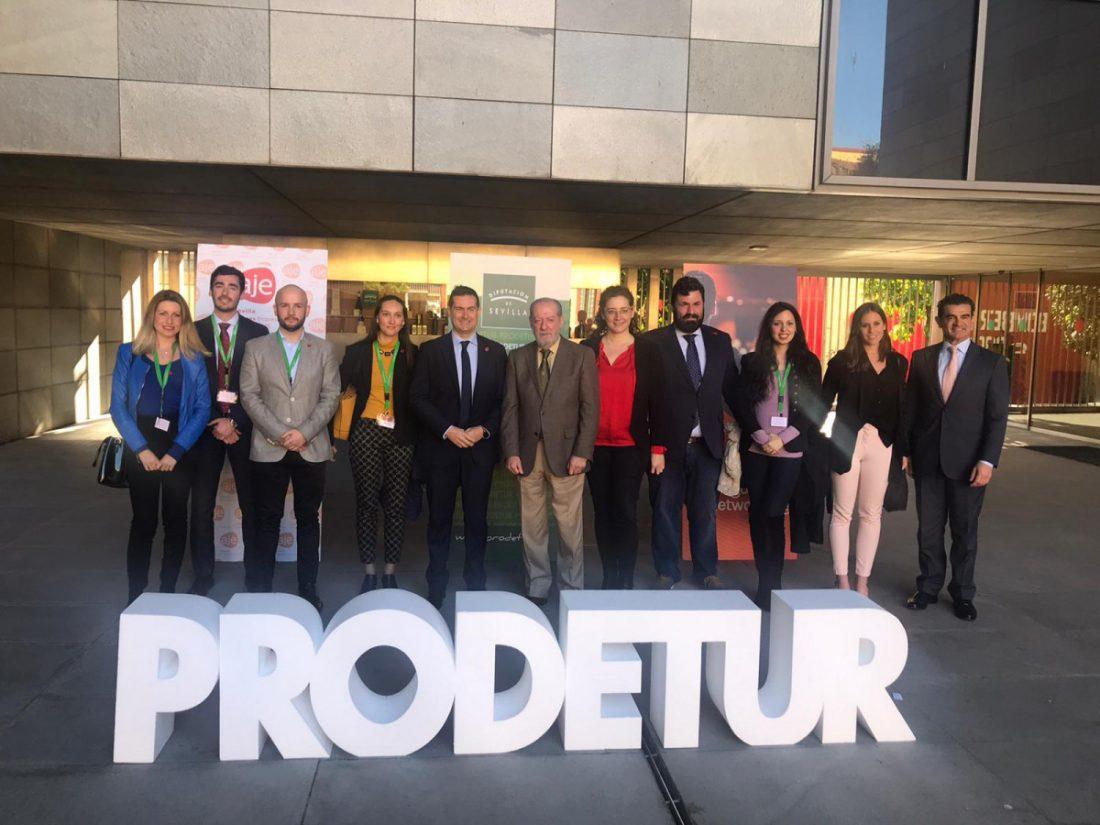 AionSur Prodetur-1 El Primer Encuentro Provincial de Negocios 2020 reúne a un centenar de profesionales Diputación Prodetur  destacado