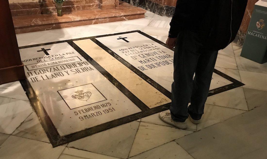 AionSur Queipo-de-Llano-3 Queipo de Llano será sacado de su tumba de La Macarena después de Semana Santa Sevilla Sociedad