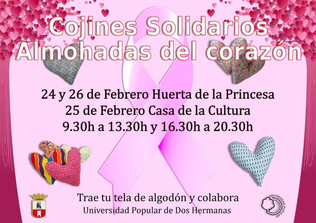 AionSur cojines-Dos-Hermanas Cojines solidarios desde Dos Hermanas a las mujeres mastectomizadas Dos Hermanas Sociedad