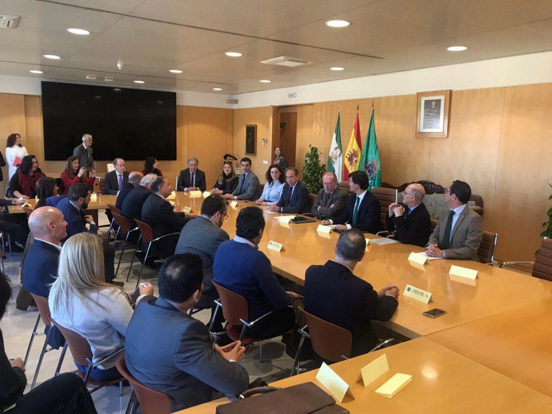 AionSur dipu-convenio Acuerdo contra la despoblación y por el desarrollo económico en la provincia de Sevilla Diputación Prodetur Provincia