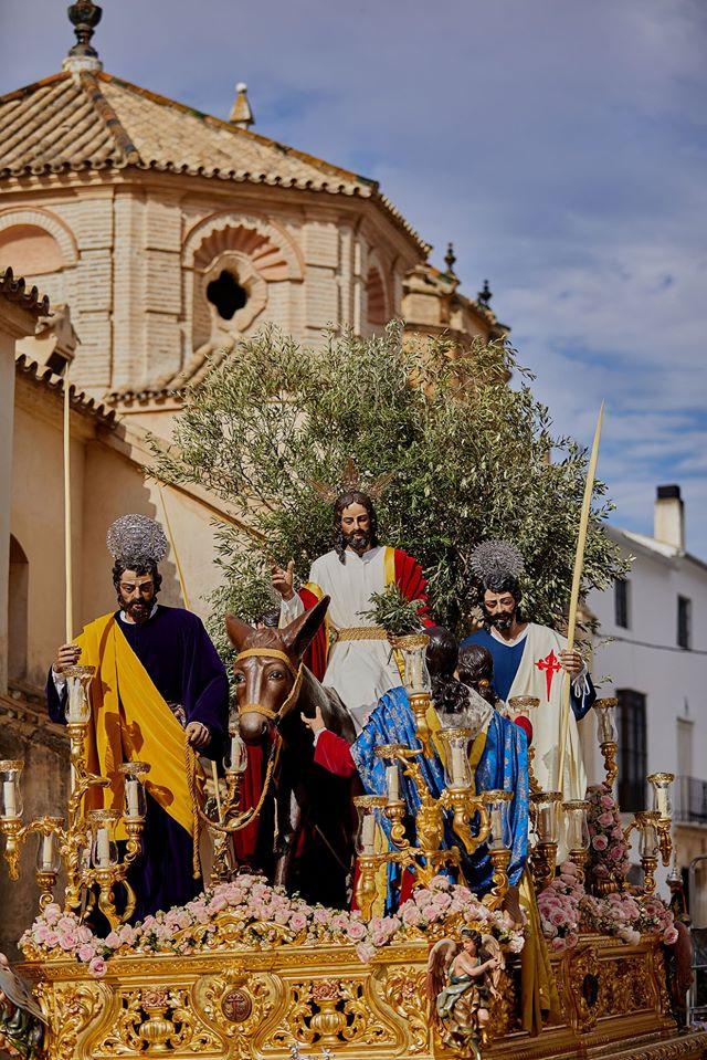 AionSur: Noticias de Sevilla, sus Comarcas y Andalucía estepa-cartel La 'borriquita' de Estepa anunciará su Semana Santa Estepa