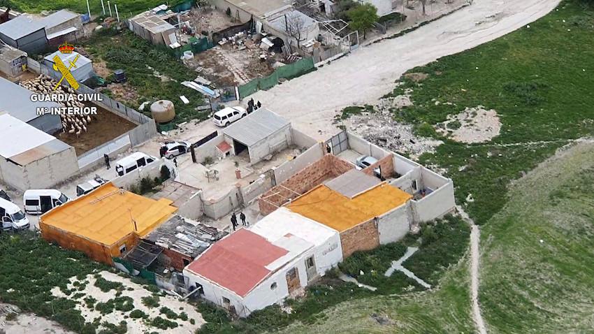 AionSur estepa-drogas Golpe al tráfico de drogas en Estepa Estepa Narcotráfico Sucesos