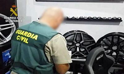 AionSur guardia-civil-talleres-400x240 Desarticulado un entramado de empresas que falsificaban productos de la industria del automóvil Sevilla Sucesos