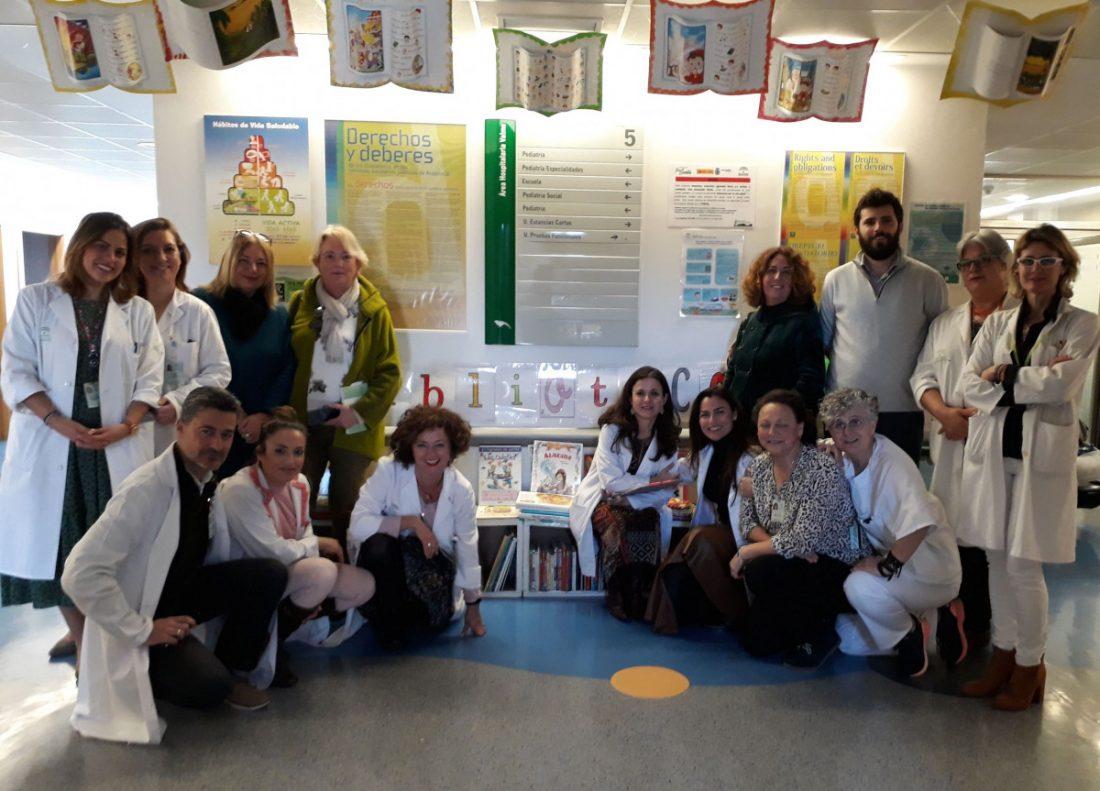 AionSur libros-valme Una donación de la biblioteca de Montequinto aumenta el fondo de libros de Valme Cultura Salud