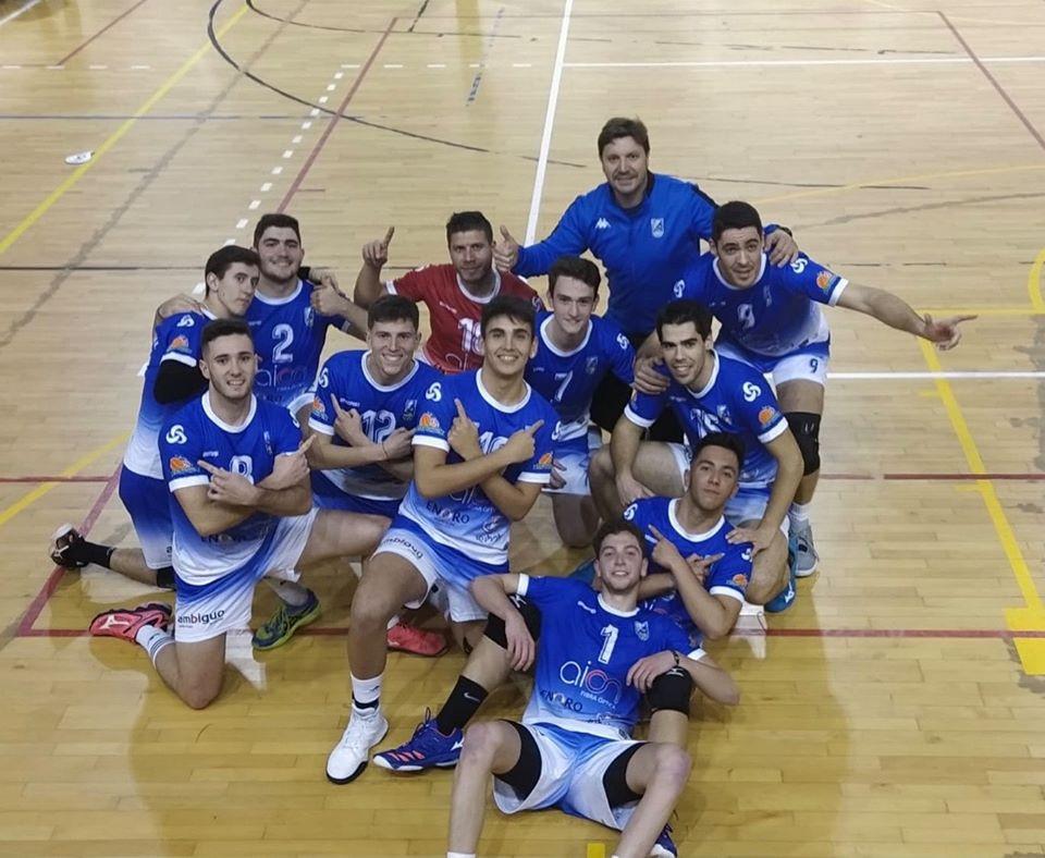 AionSur voley-arahal Y Giba se vistió de azul Arahal Deportes  destacado
