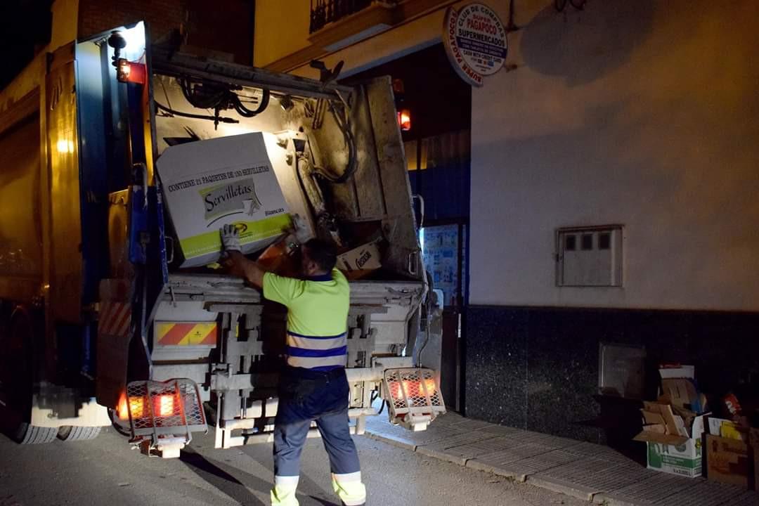 AionSur 15c9b644-72f6-48f1-9aea-c96e90fe3fd8-compressor La Mancomunidad Campiña 2000 comienza la recogida especializada del cartón en los comercios La Puebla de Cazalla