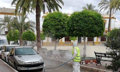 AionSur 89436624_135927947850843_3467787643108982784_n-compressor-400x240 Los pueblos de la comarca se desinfectan para prevenir el coronavirus Campiña Morón y Marchena  destacado