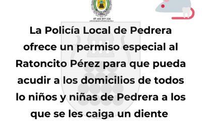 AionSur 90524961_2812581525529128_6150435271436402688_n-1-compressor-400x240 La Policía Local de Pedrera certifica que el Ratoncito Pérez puede entrar en la localidad Coronavirus Sierra Sur