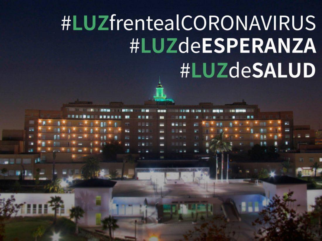 AionSur CUPULAVERDE-compressor La cúpula del Virgen del Rocío se iluminará de verde esperanza durante la pandemia del COVID-19 Coronavirus Hospitales