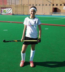 AionSur Hockey-Ana-Maria-1-270x300 María del Rocío, la niña que soñaba con un stick Deportes Huelva