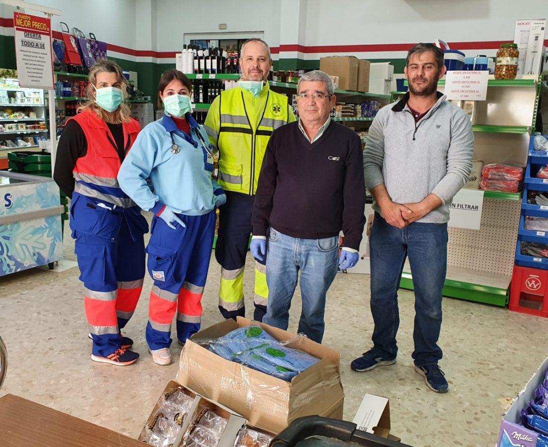 AionSur casil Otro acto de solidaridad en Marchena: la cooperativa que ha donado material de protección al equipo sanitario Coronavirus Empresas Marchena