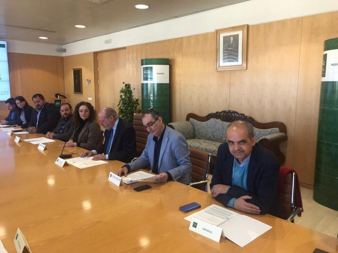 AionSur dipu-convenio Unas 200 personas mejorarán sus posibilidades de inserción laboral gracias a SIMULEM Diputación Prodetur