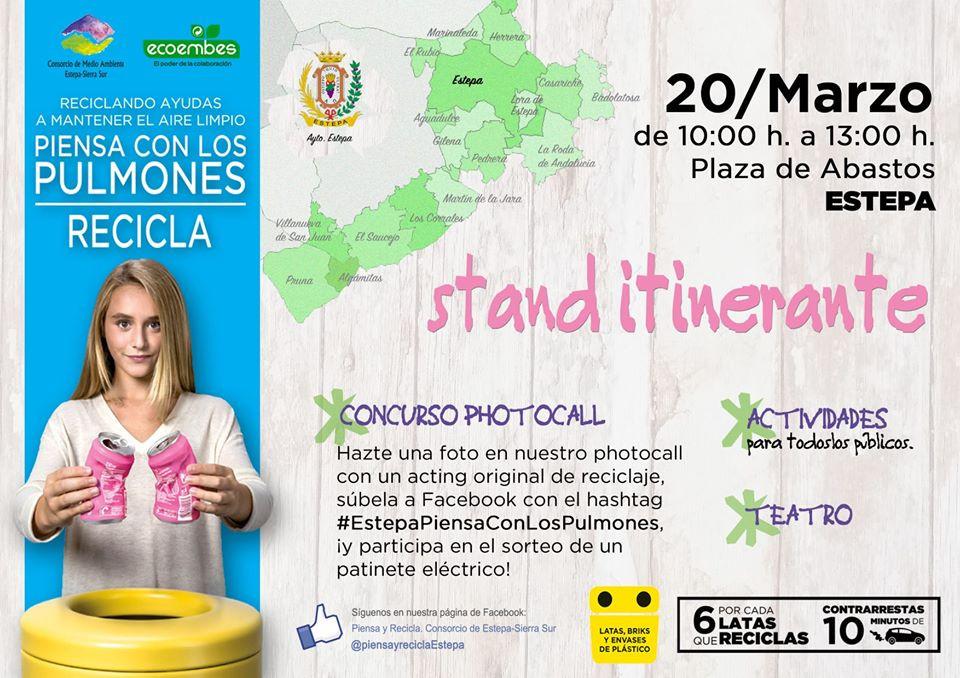 AionSur ecoembes El stand itinerante de Ecoembes llega a Estepa Estepa
