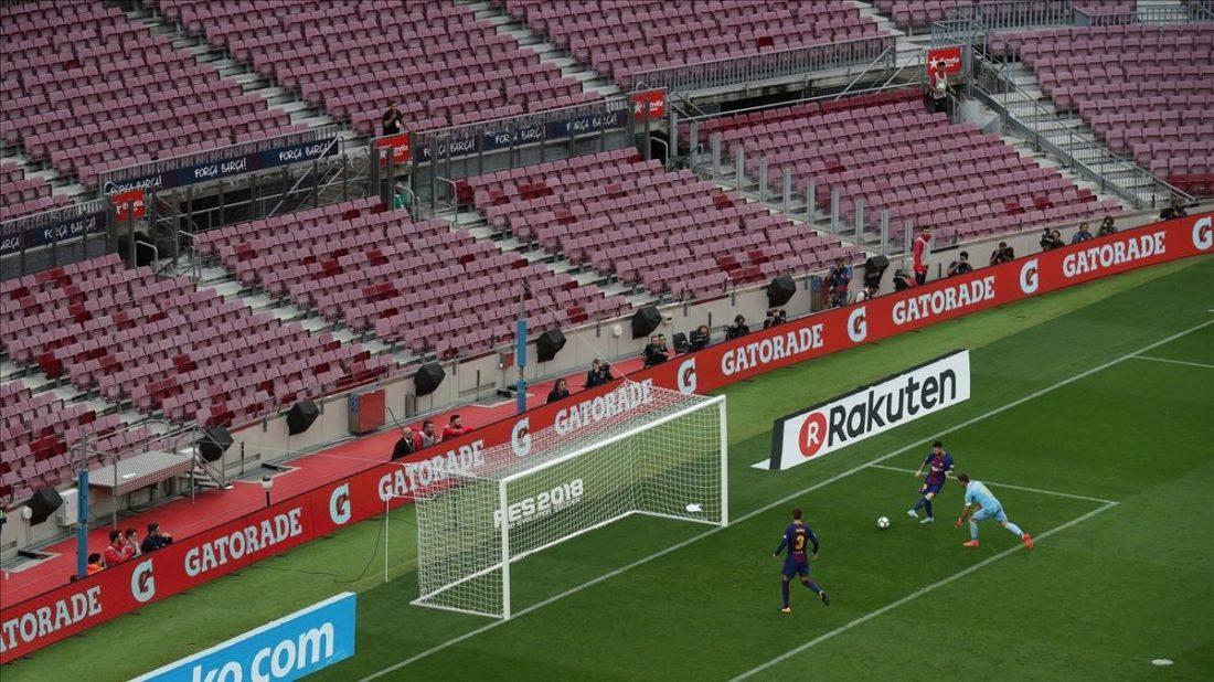 AionSur esrtadio Las dos próximas jornadas de la liga de fútbol, a puerta cerrada Deportes Salud  destacado