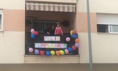 AionSur maria-compressor-400x240 Cumpleaños desde los balcones para dar un respiro al confinamiento Arahal Coronavirus  destacado
