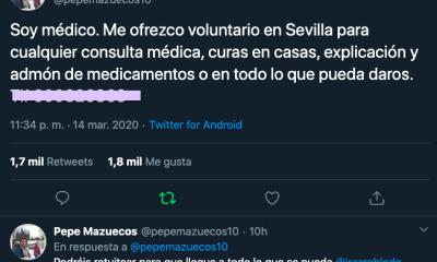 AionSur medico-voluntario-400x240 Un médico sevillano se ofrece para atender gratis a quien lo precise Coronavirus Salud Sevilla