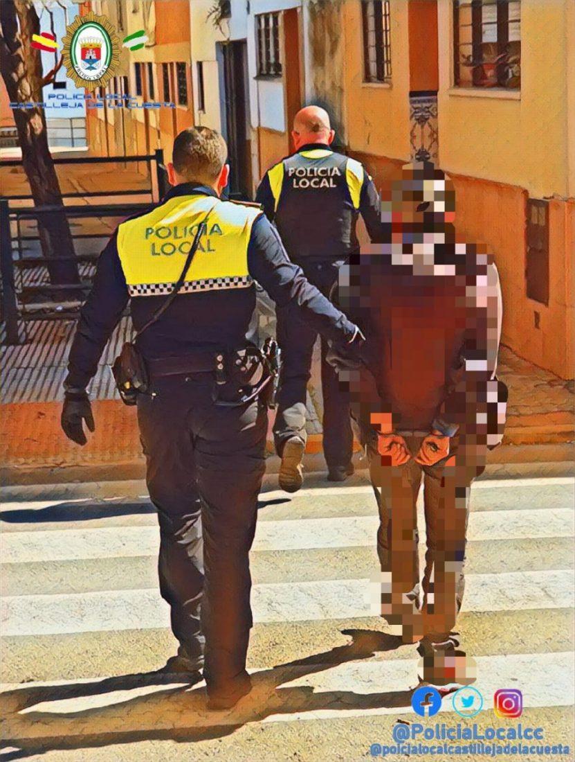 AionSur poli-Castilleja Detenido en Castilleja de la Cuesta por varios robos con violencia Castilleja de la Cuesta Sucesos