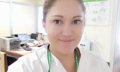 AionSur Bea-enfermera-400x240 Beatriz, la enfermera que hace más llevadero el coronavirus a las personas con sordera Coronavirus Granada
