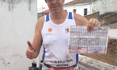 AionSur Brenes-corredor-400x240 Un vecino de Brenes corre una maratón por las azoteas de su casa Coronavirus Deportes Provincia