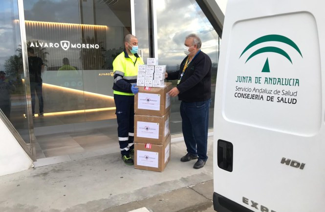 AionSur: Noticias de Sevilla, sus Comarcas y Andalucía alvaro-moreno Más de 30.000 elementos de protección saldrán de los almacenes de Álvaro Moreno Coronavirus
