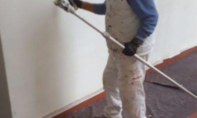 AionSur cal-moron-400x240 Pintan la residencia municipal de Morón con una pintura de cal que protege contra el coronavirus Coronavirus Morón de la Frontera  destacado