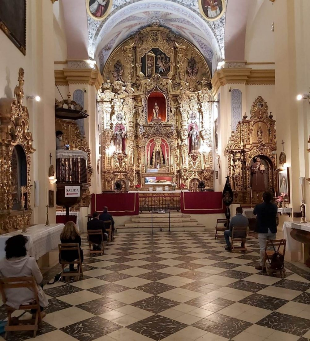AionSur 96838033_3098895763506540_8975377429728067584_o Ofrenda floral a la Virgen de los Dolores del Santo Entierro de Arahal Arahal