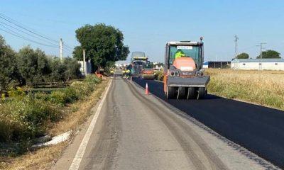 AionSur Carretera-Marinaleda-400x240 La carretera de Marinaleda a El Rubio es arreglada tras años de peticiones Provincia Sierra Sur