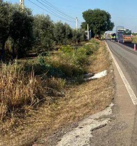 AionSur Carretera-Marinaleda1-1-281x300 La carretera de Marinaleda a El Rubio es arreglada tras años de peticiones Provincia Sierra Sur
