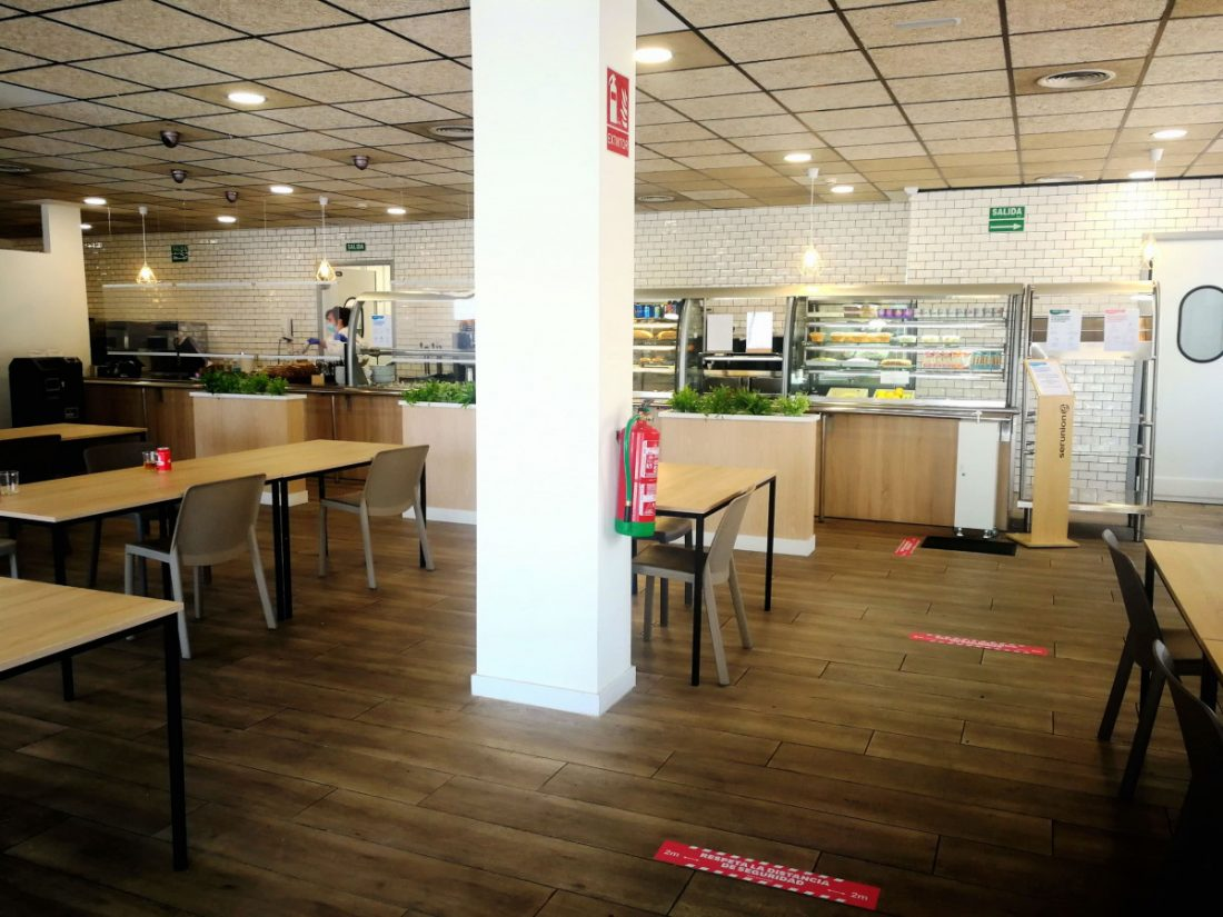 AionSur IMG_20200525_133458_resized_20200525_014133334 El Hospital Universitario Virgen del Rocío reabre las cafeterías al público Coronavirus Hospitales Salud