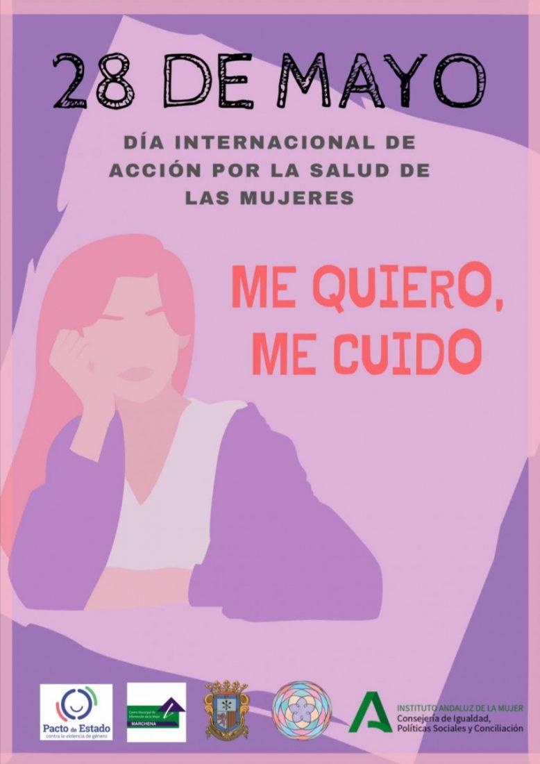 AionSur Igualdad-Marchena 'Me quiero, me cuido', campaña en Marchena por el Día Internacional de la Salud de las Mujeres Marchena Sociedad