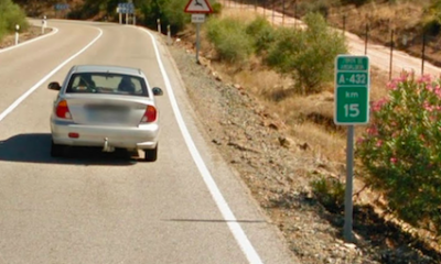 AionSur Pedroso-carreteraa-400x240 Muere un motorista en accidente en la localidad sevillana de El Pedroso Provincia Sucesos
