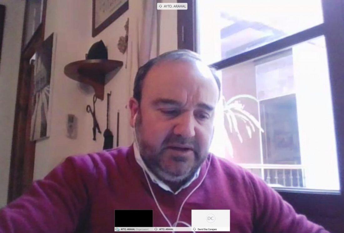 """AionSur alberto-sanroman-arahal PP Arahal: """"La Corporación trabaja de forma consensuada y coherente dando ejemplo desde el primer momento de la crisis"""" Arahal"""