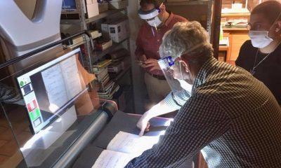 AionSur biblioteca-escaner-2-400x240 Un escáner de última generación digitalizará los archivos de Marchena Cultura Marchena