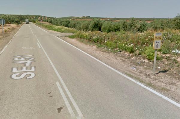 AionSur carretera-Puebla Un fallecido en accidente entre La Puebla de Cazalla y Morón de la Frontera Sucesos destacado