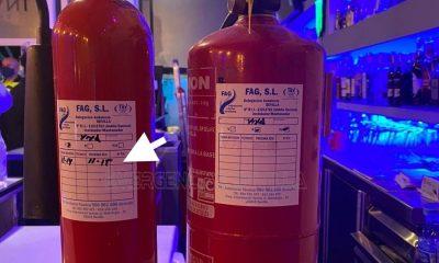 AionSur extintores-1-400x240 Precintan un bar en Sevilla sin licencia de veladores y extintores caducados desde 2015 Coronavirus Sevilla